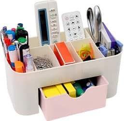 INOVERA (LABEL) Plastic Office Stationary Remote Organizer Stand