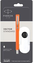 Parker Vector 9000023210 Standard Fountain Pen