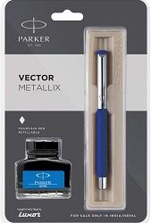 Parker Vector Mettalix Fountain Pen