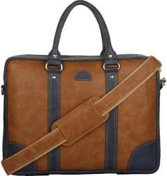 K London Leatherite Handmade Tan Unisex Bag