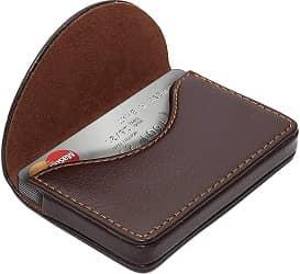NISUN Imported Leather Pocket Sized Credit Card Holder