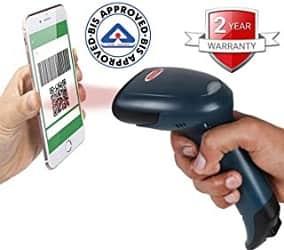 RETSOL D-2060 1D 2D Laser Barcode Scanner
