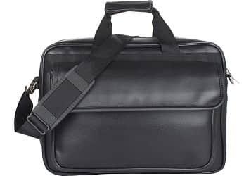 Roshiaaz Black Leather Bag