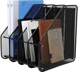 Saiyam Heavy Duty 4 Compartment File Organizer