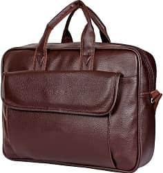 Sassie Leatherette 12 LTR Brown Office Bag