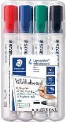 Staedtler Lumocolor 351 WP4 Bullet Tip Whiteboard Marker
