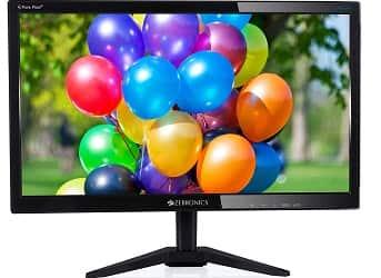 Zebronics15.6 inch (39.6 cm) LED-Backlit Computer Monitor