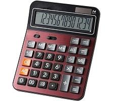 Mengshen Solar Battery Desktop Calculator