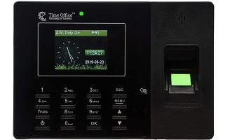Office Fingerprint and Card Based Attendance System